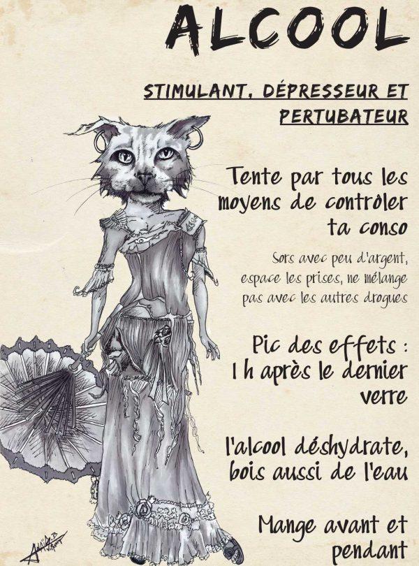 Alcool : stimulant, dépresseur et perturbateur