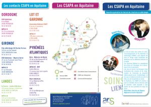 Les CSAPA en Aquitaine
